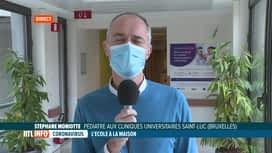 RTL INFO 13H : Coronavirus: les pédiatres demandent une réouverture des écoles à 100%