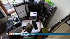 RTL INFO 13H : Coronavirus: les adolescents reprennent les cours mais à domicile