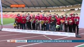RTL INFO 19H : Coronavirus: les athlètes olympiques vont être vaccinés