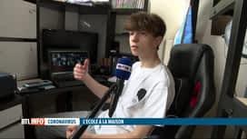 RTL INFO 19H : Coronavirus: les adolescents reprennent les cours mais à domicile