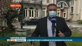 RTL INFO 13H : Coronavirus: la Wallonie offre une 2e chance à la vaccination