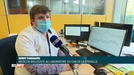 RTL INFO 13H : Coronavirus: le variant britannique est majoritaire en Belgique