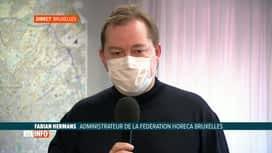 RTL INFO 13H : Coronavirus: l'horeca prépare la réouverture des terrasses