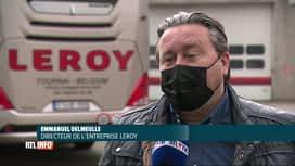 RTL INFO 13H : Coronavirus: les sociétés d'autocars manquent de chauffeurs