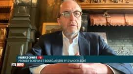 RTL INFO 13H : Incendie à Anderlecht: il y avait trop d'habitants dans l'immeuble