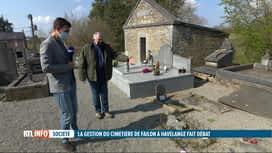 RTL INFO 13H : Havelange: le cimetière de Failon est en mauvais état