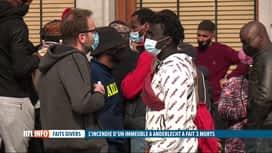 RTL INFO 19H : Incendie à Anderlecht: 2 corps retrouvés ce midi dans les décombres