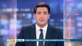 RTL INFO 13H : Derek Chauvin reconnu coupable: la réaction de Joe Biden