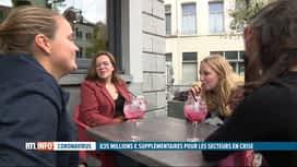 RTL INFO 19H : Coronavirus: 835 millions d'€ supplémentaires, qu'en pense l'horeca?