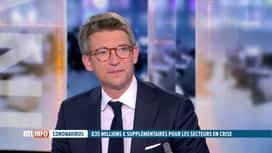 RTL INFO 19H : Coronavirus: le ministre du Travail et de l'Économie est notre invité