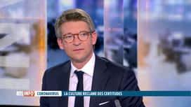 RTL INFO 19H : Coronavirus: P-Y Dermagne revient sur la situation de la Culture