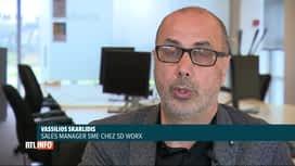 RTL INFO 13H : Coronavirus: le taux de chômage temporaire est plus élevé en Wallonie