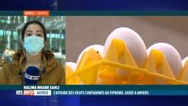 RTL INFO 13H : Ouverture à Anvers du procès des oeufs contaminés au Fipronil