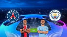 Champions League : 28/04 : PSG - Manchester City (Les buts)