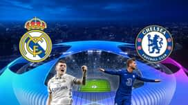 Champions League : 27/04 : Real Madrid - Chelsea