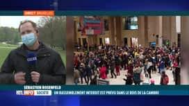RTL INFO 13H : Sébastien Rosenfeld est en direct du Bois de la Cambre où l'on redo...