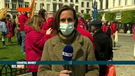 RTL INFO 13H : Fête du 1er mai: les syndicats réclament une hausse du salaire mini...