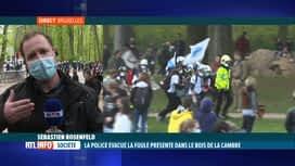 """RTL INFO 19H : """"Boum 2"""" au Bois de la Cambre: Sébastien Rosenfeld est en direct"""