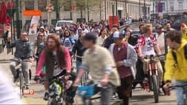 RTL INFO 19H : Cycle for Freedom manifeste pour la 5e fois contre les mesures sani...