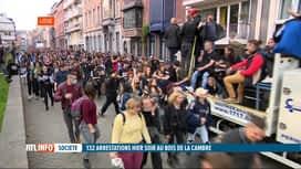 RTL INFO 13H : Le défilé festif de Liège s'est terminé dans le calme à 20h00 hier ...