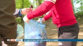 RTL INFO 13H : La Boum 2 au Bois de la Cambre: la violence dénoncée par beaucoup
