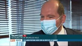 RTL INFO 13H : La Boum 2 au Bois de la Cambre: réaction du bourgmestre de Bruxelles
