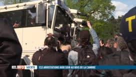 RTL INFO 19H : La Boum 2 au Bois de la Cambre: la manifestation se voulait pacifique