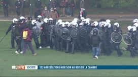 RTL INFO 19H : La Boum 2 au Bois de la Cambre: 30 blessés, 132 arrêtés et une polé...