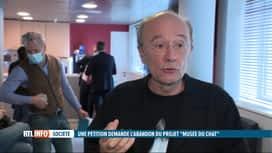 RTL INFO 19H : La création d'un musée consacré au Chat de Geluck crée la polémique