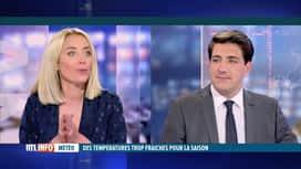 RTL INFO 13H : Météo: Emilie Dupuis donne les prévisions météo