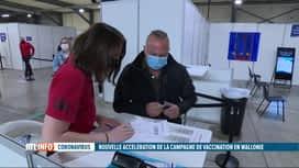 RTL INFO 13H : Coronavirus: les centres de vaccination s'organisent