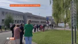 RTL INFO 19H : Coronavirus: l'Hôpital militaire a ouvert ses portes pour la vaccin...