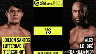 CW111 - Joilton Santos Lutterbach vs Alex Lohore