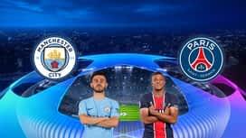 Champions League : 04/05 : Manchester City - PSG (demi-finale)