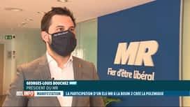 RTL INFO 13H : Un élu de Châtelet a participé à la Boum 2 et risque l'exclusion du MR