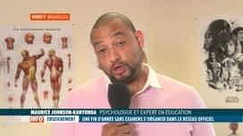 RTL INFO 13H : Suppression des examens de juin: réaction d'un psychologue