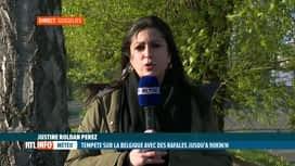 RTL INFO 19H : Météo: la tempête a balayé notre pays aujourd'hui