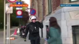 """RTL INFO 13H : La police juge légitimes ses interventions lors de """"La Boum 2"""""""