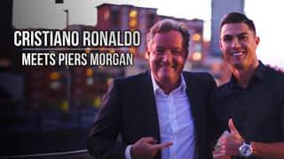 Cristiano Ronaldo meets Piers Morgan