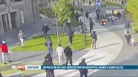RTL INFO 19H : Un policier lynché par une bande de jeunes à St-Gilles