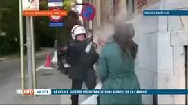 """RTL INFO 19H : La police juge légitimes ses interventions lors de """"La Boum 2"""""""