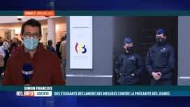 RTL INFO 19H : La FEF demande des mesures en faveur des étudiants précarisés