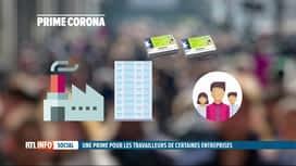 RTL INFO 13H : Accord interprofessionnel: le gouvernement propose une prime corona