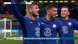 RTL INFO 13H : Ligue des Champions: Chelsea étouffle le Real Madrid (2-0) et file...