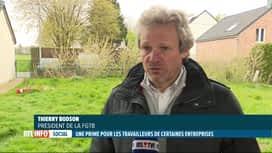RTL INFO 19H : Prime corona: réactions du patronat et des syndicats