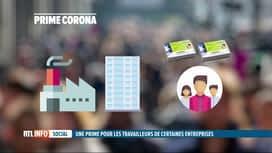 RTL INFO 19H : Accord interprofessionnel: le gouvernement propose une prime corona