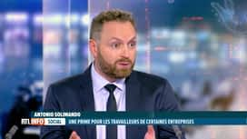 RTL INFO 19H : Prime corona: Antonio Solimando analyse le climat politique actuel
