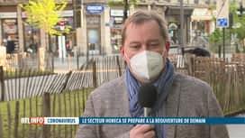 RTL INFO 19H : Ouverture des terrasses: Fabian Hermans est notre invité