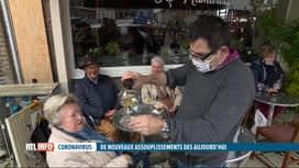 RTL INFO 19H : Coronavirus: le déconfinement progressif offre quelques libertés