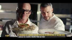 Top Chef : L'agneau en croûte selon Heston Bluementhal et Glenn Viel